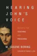 Hearing John s Voice