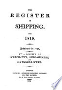 Register of Shipping