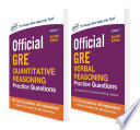 Official GRE Value Combo Book