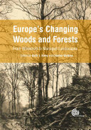 Europe's Changing Woods and Forests Book