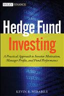 Hedge Fund Investing Book