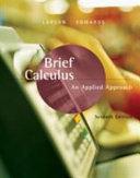 Brief Calculus An Applied Approach [Pdf/ePub] eBook