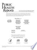 Health Services Reports Book
