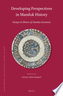 Developing Perspectives in Mamluk History