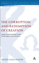 The Corruption and Redemption of Creation [Pdf/ePub] eBook
