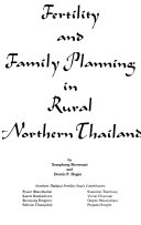 Fertility And Family Planning In Rural Northern Thailand