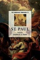 The Cambridge Companion to St Paul