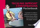 Tackling Difficult Conversations Pocketbook