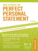 How to Write the Perfect Personal Statement