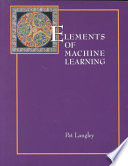 Elements of Machine Learning