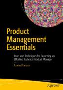 Product Management Essentials Pdf/ePub eBook