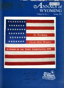 Wyoming History Journal Book