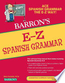 E Z Spanish Grammar