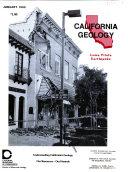 California Geology Book
