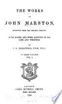 The Works of John Marston Book