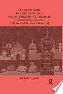 Contemporary English Language Indian Children s Literature