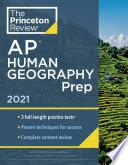 Princeton Review AP Human Geography Prep 2021