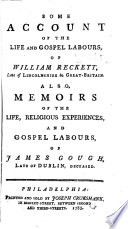 Some Account of the Life and Gospel Labours of William Reckitt Book