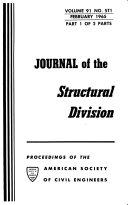 Journal  Proceedings of the American Society of Civil Engineers Book