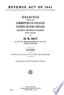 Internal Revenue Acts of the United States  1909 1950