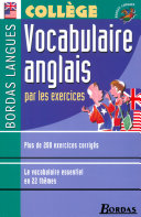 Bordas Langues • Vocabulaire anglais par les exercices ebook