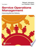 Service Operations Management Book