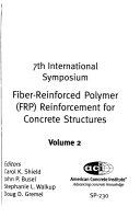 Fiber reinforced Polymer  FRP  Reinforcement for Concrete Structures Book