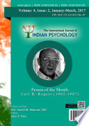 The International Journal Of Indian Psychology Volume 4 Issue 2 No 87