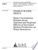 Energy Water Nexus