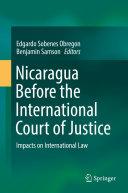 Nicaragua Before the International Court of Justice Pdf/ePub eBook
