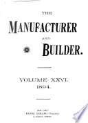 The Manufacturer and Builder Book