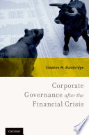 Corporate Governance After The Financial Crisis [Pdf/ePub] eBook