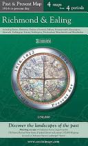 Cassini Past and Present Map