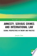Amnesty  Serious Crimes and International Law