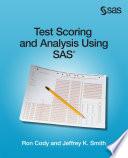 Test Scoring and Analysis Using SAS