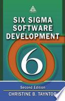 Six Sigma Software Development  Second Edition