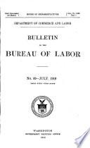 Bulletin of the United States Bureau of Labor Statistics Book