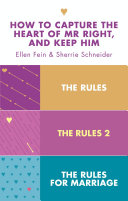 The Rules 3 in 1 Collection  The Rules  The Rules 2 and The Rules for Marriage