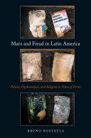 Pdf Marx and Freud in Latin America