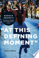 At this Defining Moment  Book