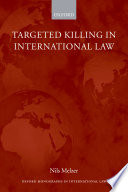 Targeted Killing in International Law Book