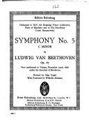 Symphony no  5  C minor  op  67