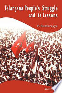 Telangana People S Struggle And Its Lessons