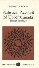Statistical Account of Upper Canada