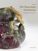 French Art Nouveau Ceramics