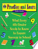 Practice And Learn Sixth Grade