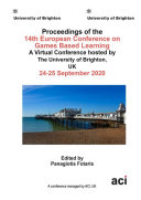 ECGBL 2020 14th European Conference on Game Based Learning