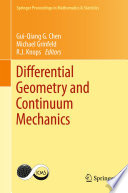 Differential Geometry And Continuum Mechanics Book PDF