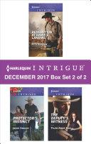 Harlequin Intrigue December 2017   Box Set 2 of 2