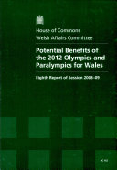 Potential Benefits of the 2012 Olympics and Paralympics for Wales